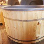 Plastic hot tubs