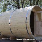 Spruce sauna